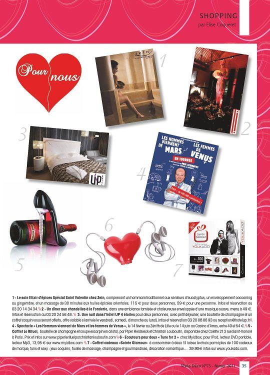Dossier spécial Saint Valentin Cadeaux A r 1 NAIL S INSTITUT 2 3 5 4 6 7 1  - Guess Bijoux Coffret Charm s argenté. prix   49 €, breloque Charm s à  partir de ... c3c04365ca15