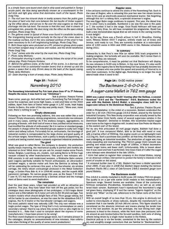 Voie Libre n°59 mar/avr 2010 - Page 64 - 65 - Voie Libre n°59 mar ...