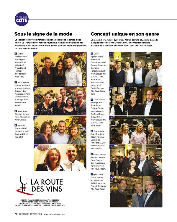 COTE Marseille Provence n°177 déc 18jan 2019 Page 78 79