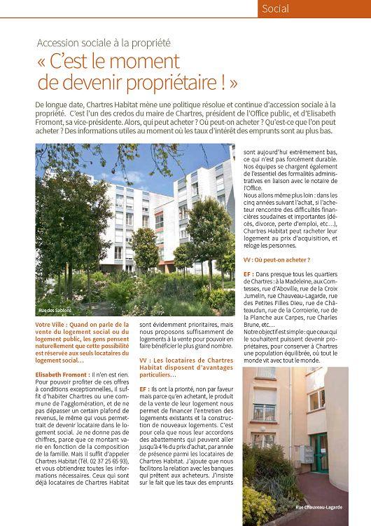 Chartres Votre Ville N161 Novembre 2016 Page 24 25 Chartres