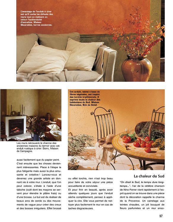 Déco Campagne N 1 Oct Nov 2013 Page 96 97 Déco