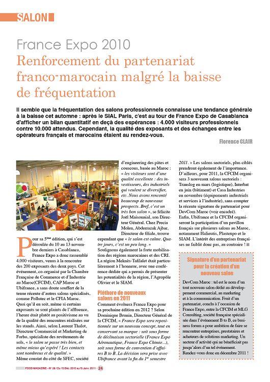 Food Magazine n°28 janvier 2011 - Page 24 - 25 - Food ...