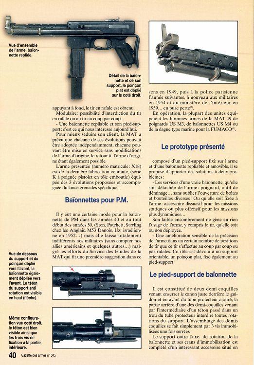 PISTOLET MITRAILLEUR DE 9 mm (MODELE 1949) - Page 2 18937-GazettedesArmes-345-Page-040