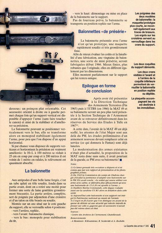 PISTOLET MITRAILLEUR DE 9 mm (MODELE 1949) - Page 2 18937-GazettedesArmes-345-Page-041