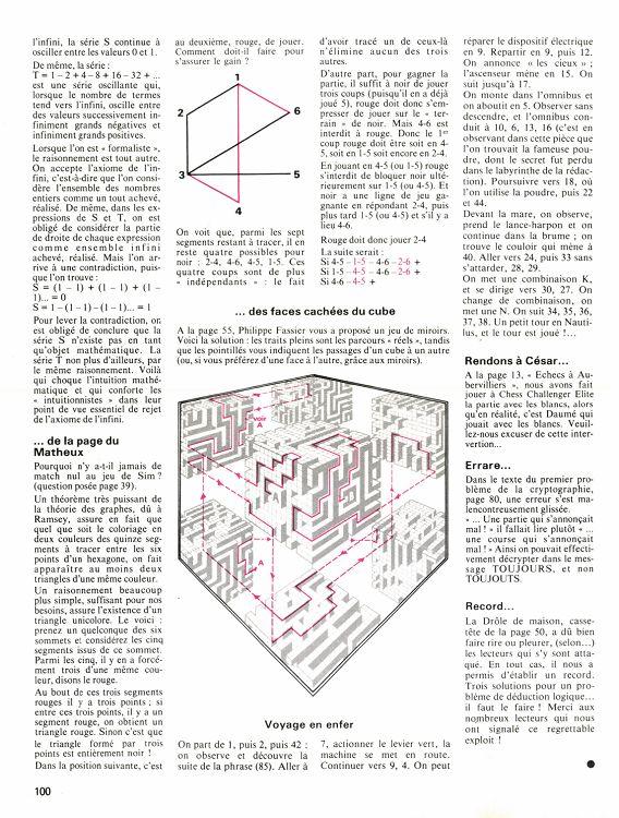 Jeux Stratégie N15 Junjui 1982 Page 94 95 Jeux