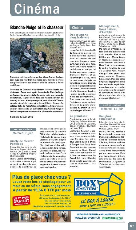 Journal Des Spectacles N 243 Juin 2012 Page 88 89