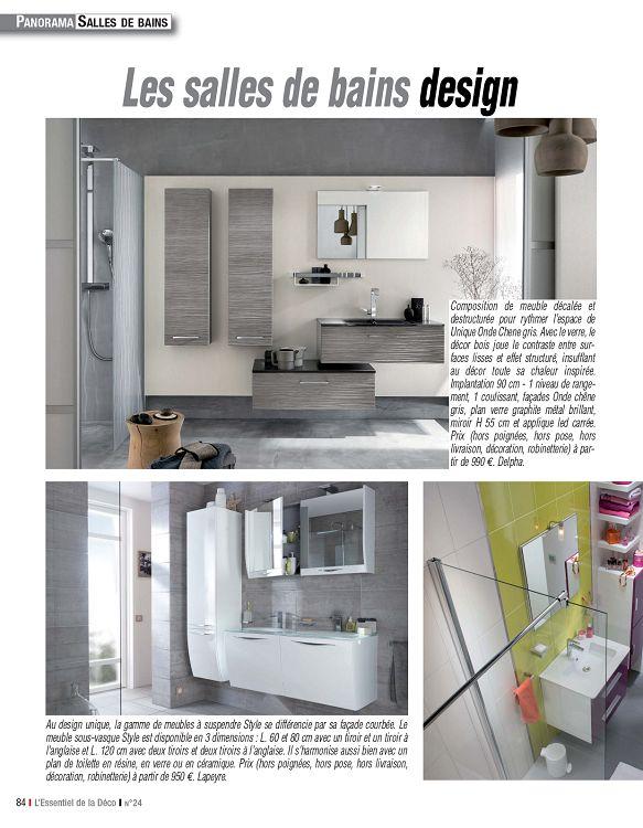 L\'Essentiel de la Déco n°24 oct/nov/déc 2013 - Page 84 - 85 ...