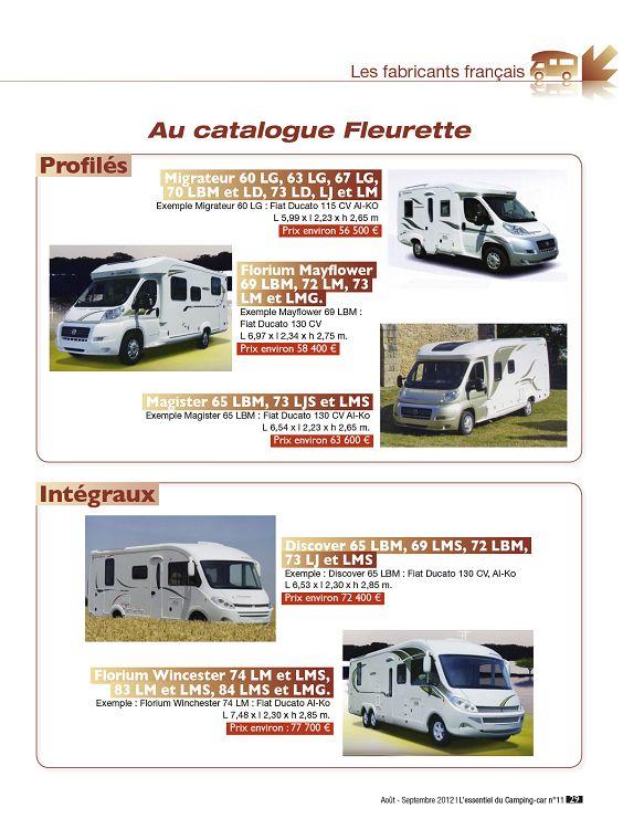 L Essentiel Du Camping Car N 11 Aou Sep Oct 2012 Page 28 29 L