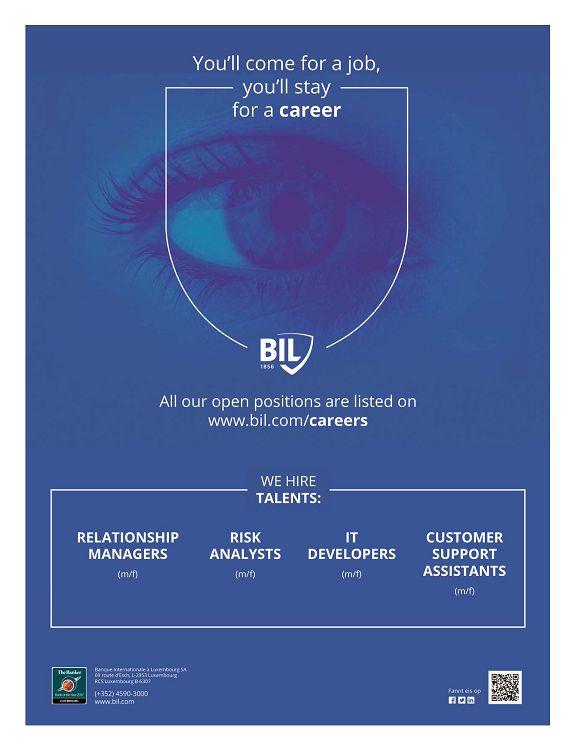 Bil luxembourg careers