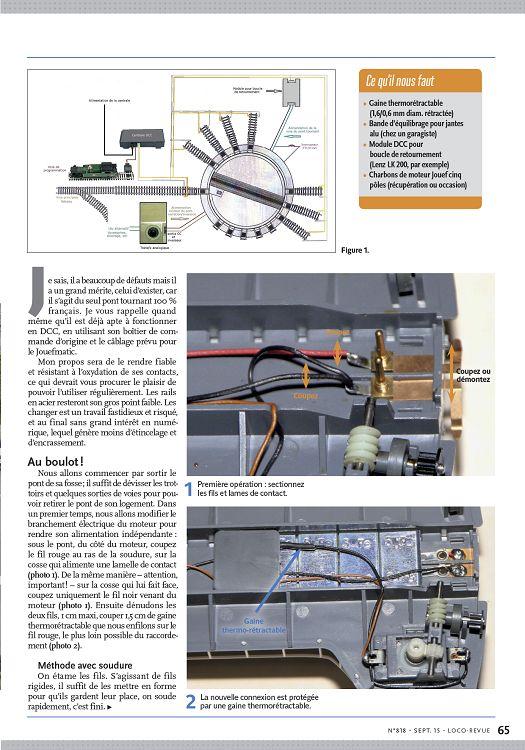 Loco Revue N 818 Septembre 2015 Page 64 65 Loco Revue