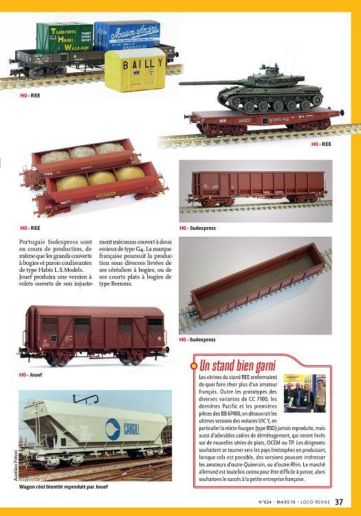 JOUEF ouvert wagons de la SNCF COOPERL