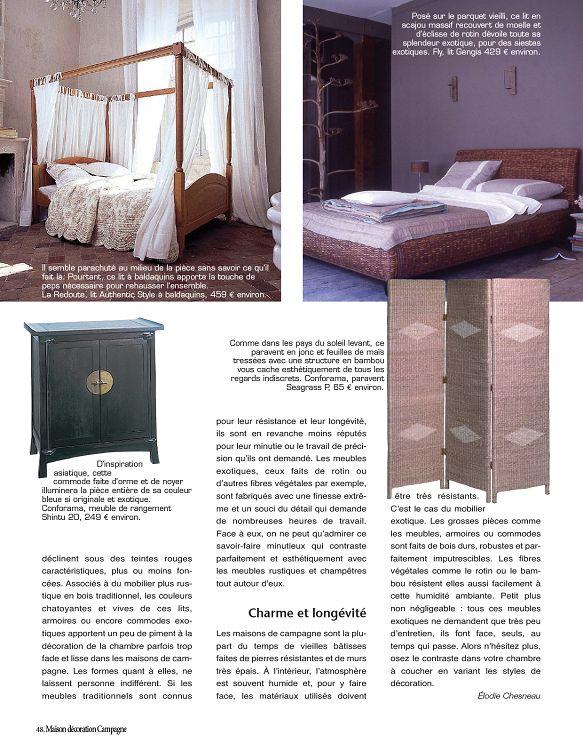 Maison Décoration Campagne N1 Sepoct 2011 Page 48 49