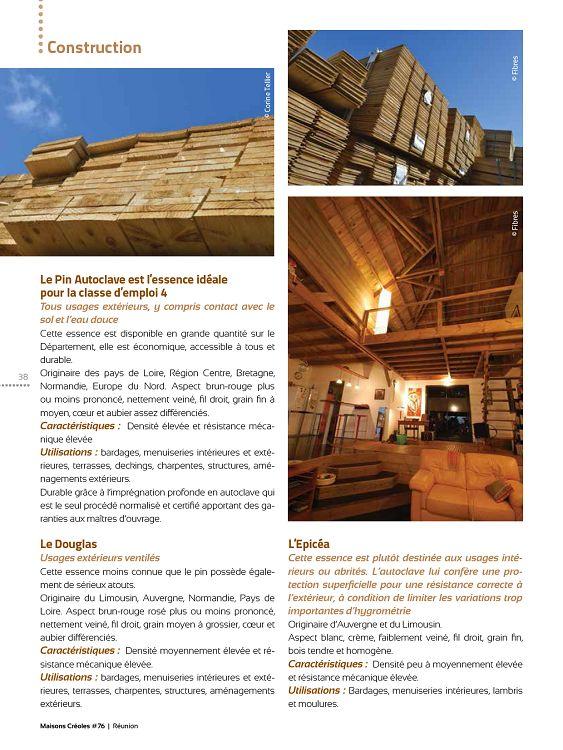 Maisons Créoles La Réunion N 76 Jun Jui 2013 Page 38 39