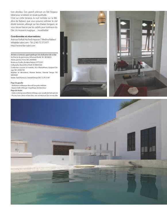 Ymen agencées autour dune large terrasse invitant au farniente les suites de létage présentent un décor et des aménagements résolument contemporains