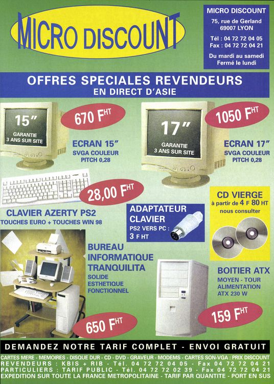 Micro Achat N43 Avril 2000 Page 432 433 Micro Achat N