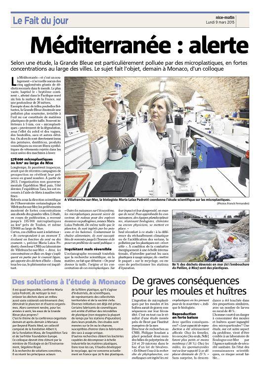 2015-03-09-Méditerranée-alerte aux déchets plastiques-NM