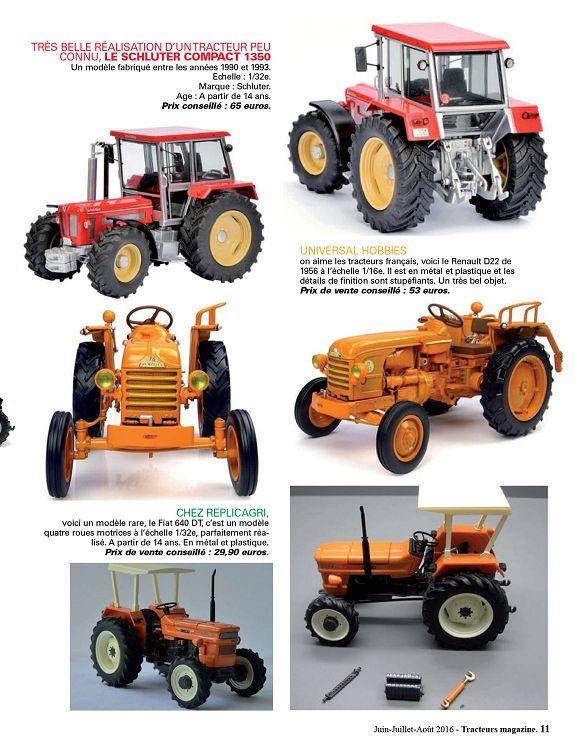TR125G Tracteur 1//43 universal Hobbies n° 60 FAHR F22 1939