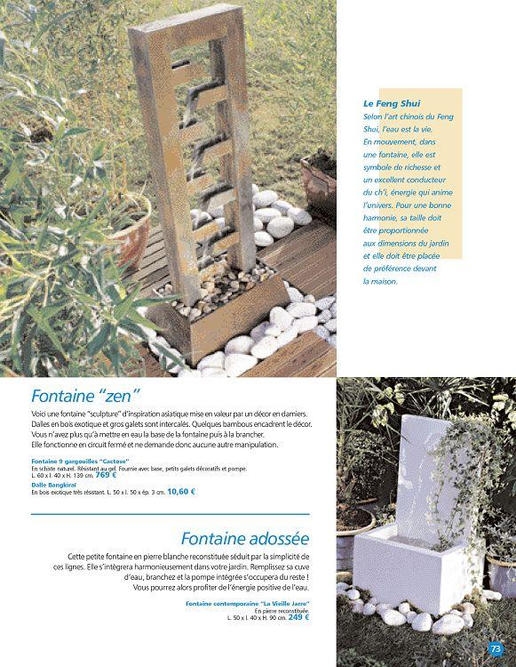 Beautiful Fontaine De Jardin Truffaut Images - House Design ...