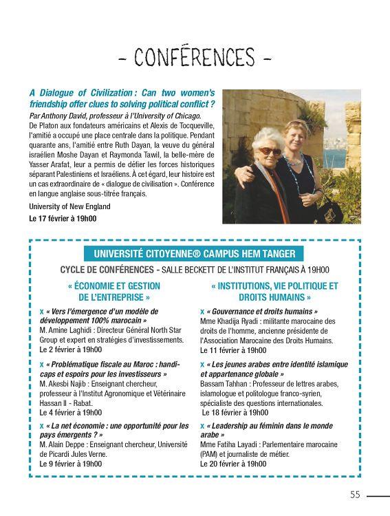 Urbain Tanger n°35 février 2016 - Page 54 - 55 - Urbain