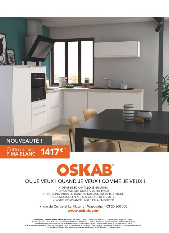 Oskab Wasquehal Mon Cellier Avantaprs Meubles De Cuisine