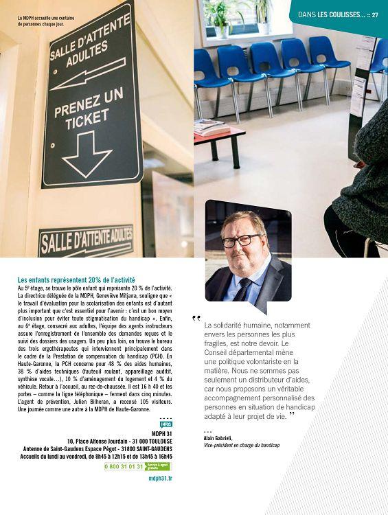 La Haute Garonne Vous Une JournÉe À Maison DÉpartementale Des Personnes HandicapÉes Dix Ans Après Son Ouverture à Toulouse