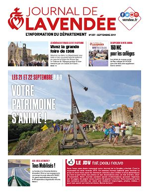 [85] Journal de la Vendée n°257 septembre 2019