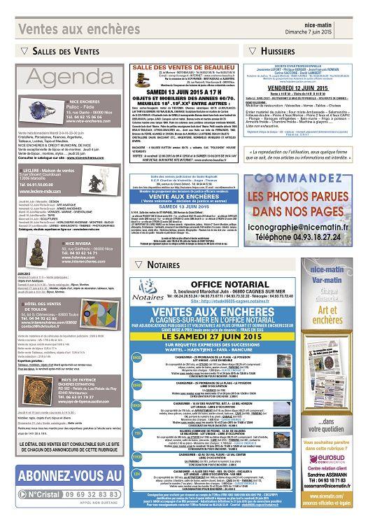 Nice Matin N 2015 06 07 Dimanche Page 30 31 Nice Matin N